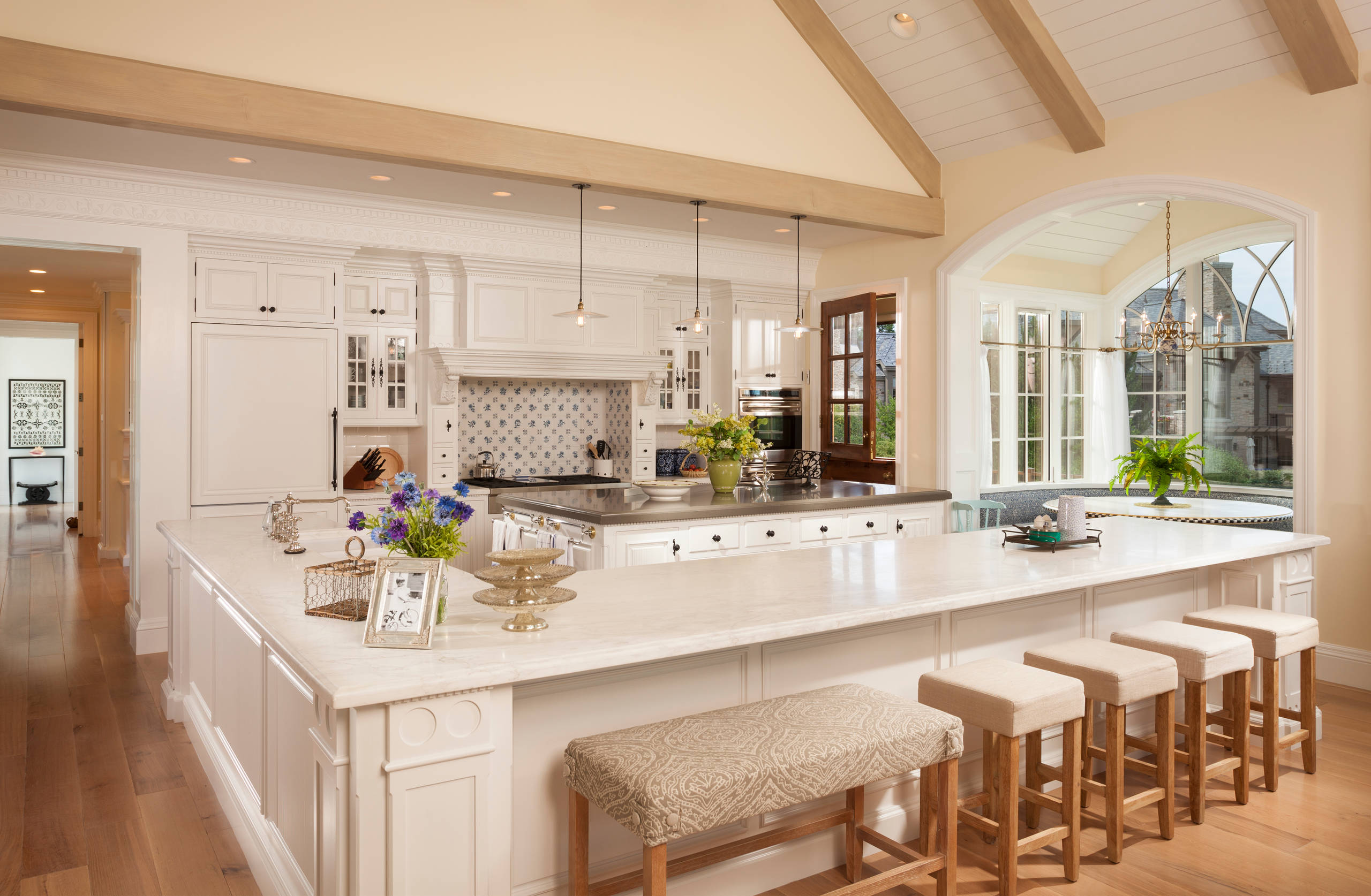 75 Beautiful Traditional Kitchen With Two Islands Pictures Ideas November 2020 Houzz