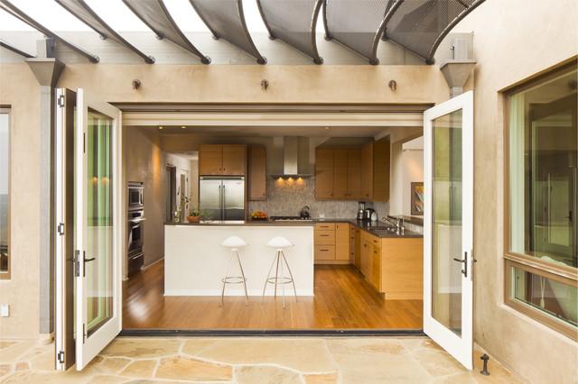 On Counter Kitchen Corner Cabinet With Accordion Door