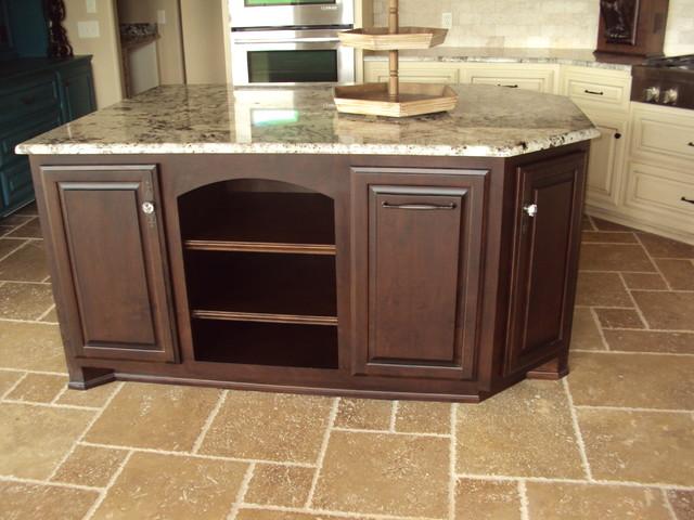 Custom Cabinets Traditional Kitchen Oklahoma City By Tillison Cabinet Company Inc