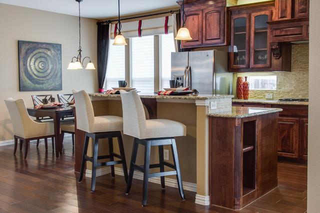 Frisco, TX Home traditional-kitchen