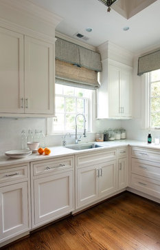 Closing the space above kitchen cabinets... | The Turquoise Home