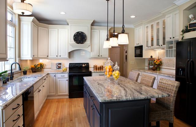 Kitchen Transformation Transitional Kitchen St Louis By