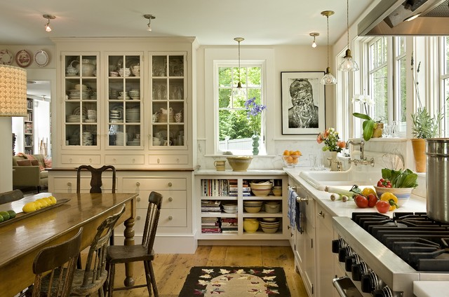 The Kitchen 8 elements of a farmhouse kitchen | zin home blog