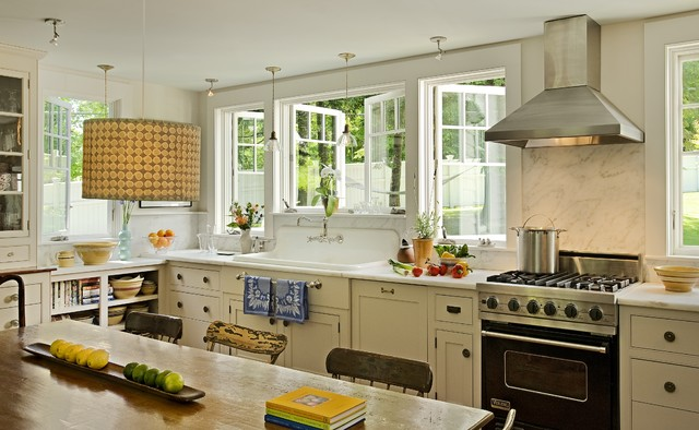 Kitchen Transformation Traditional Kitchen Burlington By Smith Vansant Architects Pc