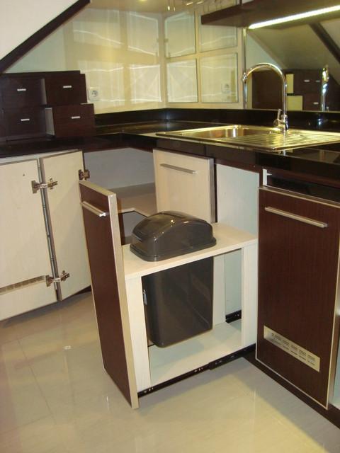 kitchen trash can trash bin tempat sampah modern
