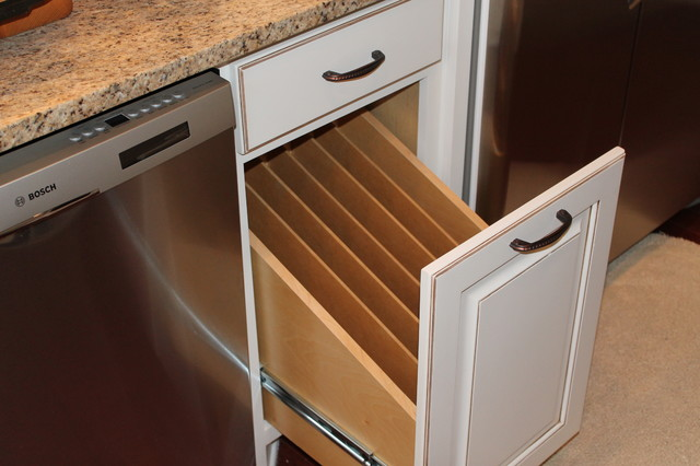 Kitchen Tray Organizer traditional-kitchen