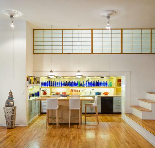 Kitchen, Tribecca Loft, New York City
