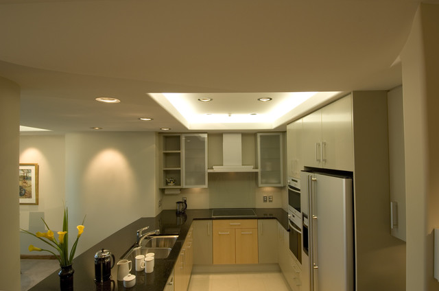 Kitchen unit a modern kitchen for Modern kitchen lighting design