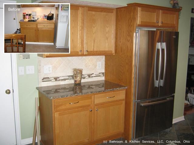 Http Www Houzz Com Photos 14413738 Kitchen Update Countertops Backsplash Flooring Transitional Kitchen Other