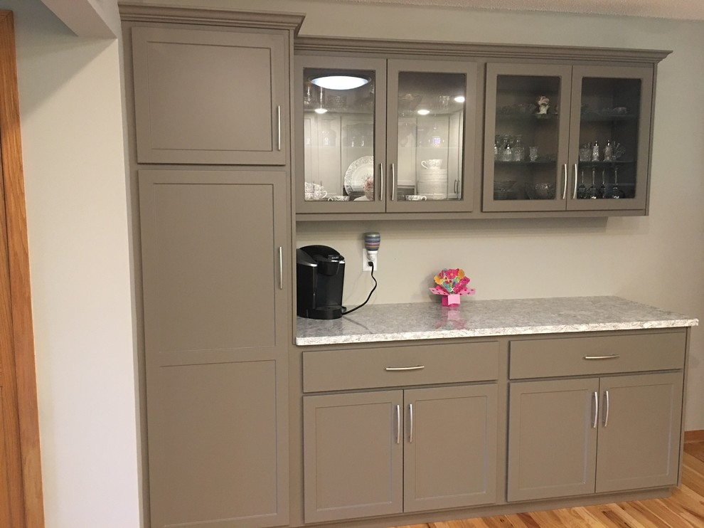 Kitchen Update Done With Cabinet Refacing And New Island ...