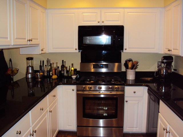 Kitchen Update done with Cabinet Refacing in Maple traditional-kitchen