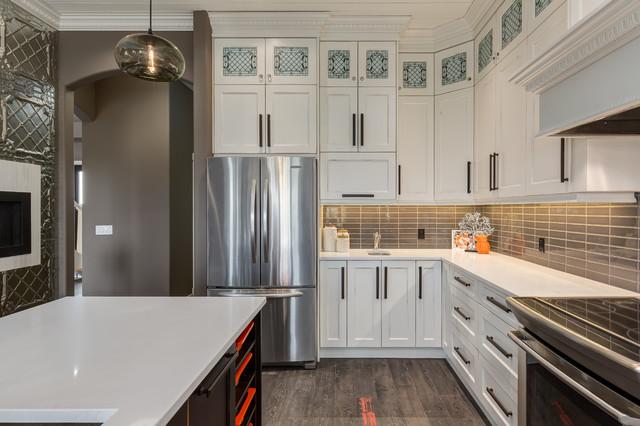 Kitchen update contemporary kitchen calgary by kon for Modern kitchen updates