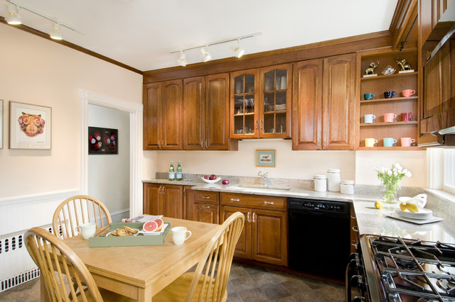 Http Www Houzz Com Photos 1188220 Kitchen Update On A Small Budget Traditional Kitchen Boston