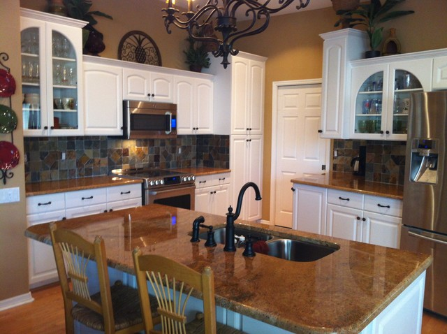 Kitchen update traditional kitchen tampa by for Traditional kitchen meaning