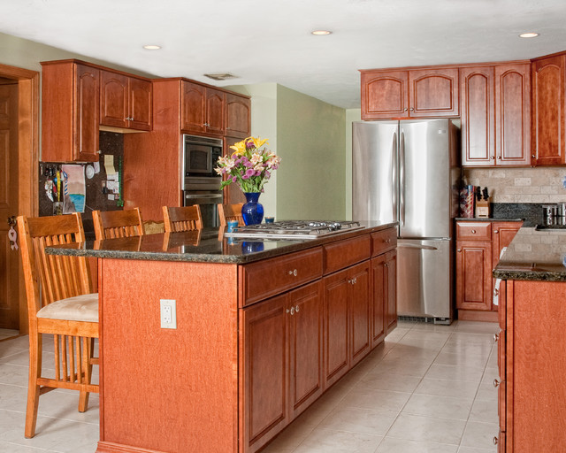 Kitchen updated traditional kitchen boston by for Traditional kitchen meaning