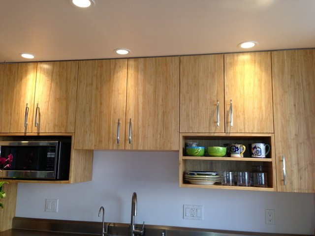 kitchen upper cabinets contemporary kitchen hawaii by hawaii kitchen bath - Upper Kitchen Cabinets