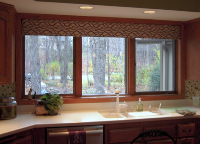Kitchen valance - Modern valances for kitchen ...