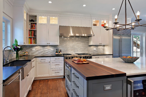 How Tall Are The Ceilings And Upper Cabinets
