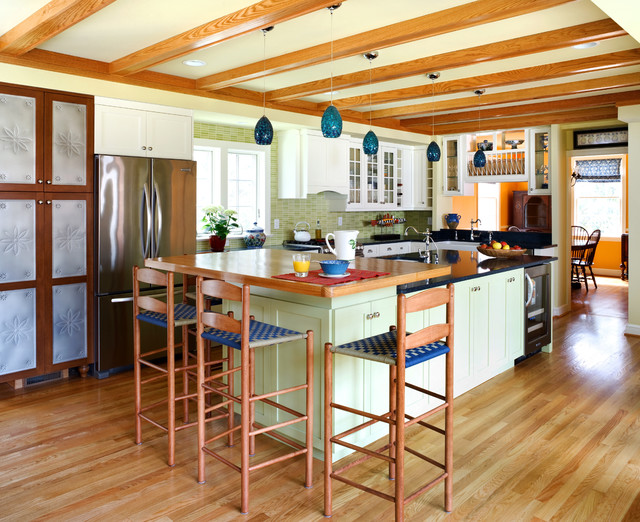 Kitchen View traditional-kitchen