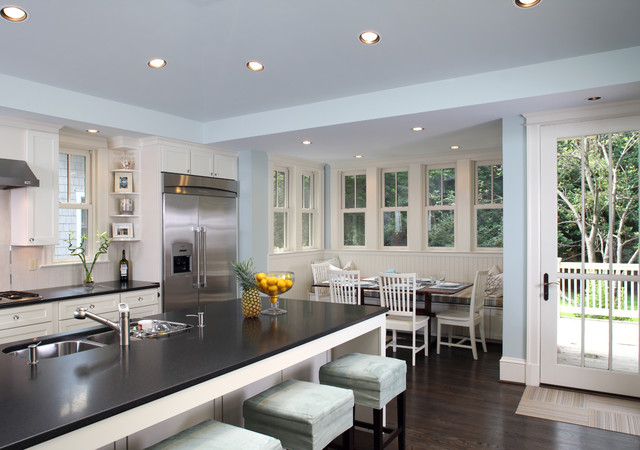 Kitchen View Transitional DC Metro By