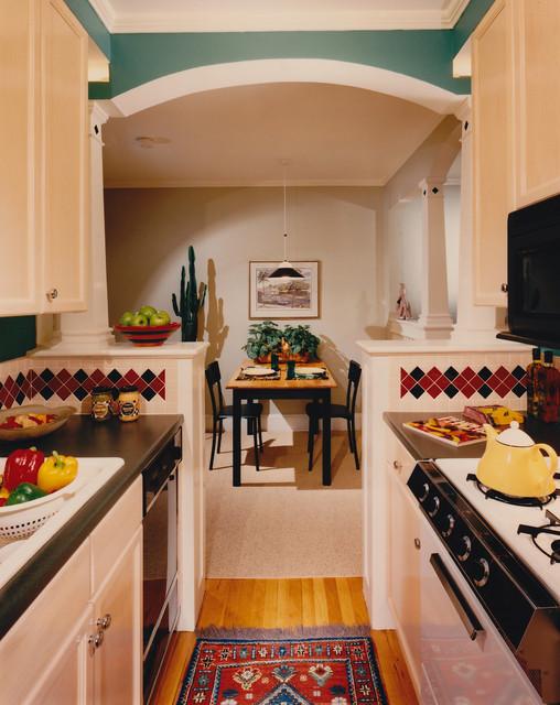 Harvard Street traditional-kitchen