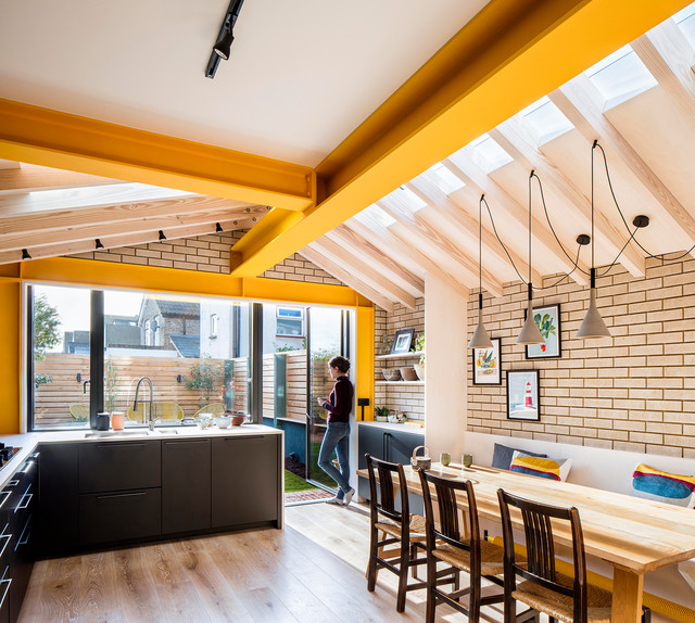7 Ideas To Hang Pendant Lights From Uneven Ceilings Houzz Au
