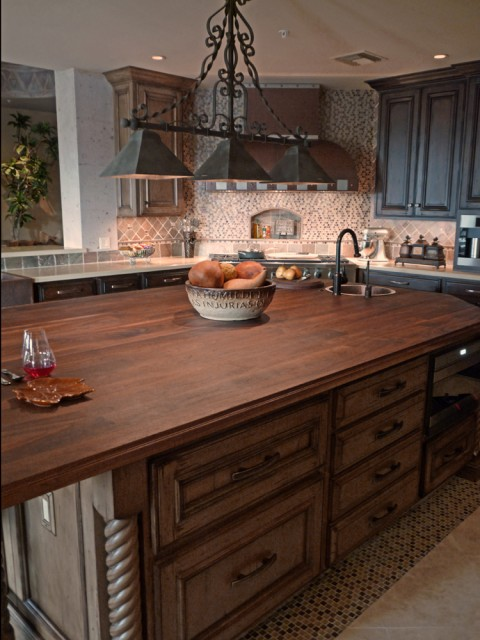 Kitchen remodel island eclectic kitchen