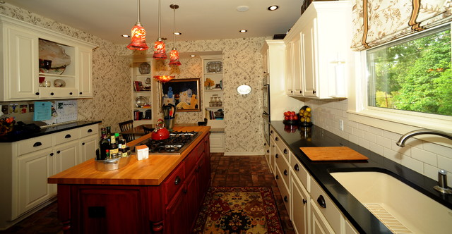 Smith Designs traditional-kitchen