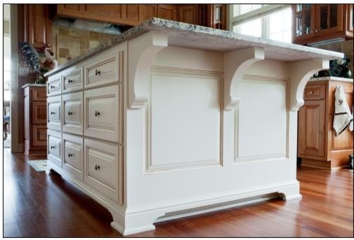 kitchen island corbels kitchen w white accent island traditional kitchen 1879