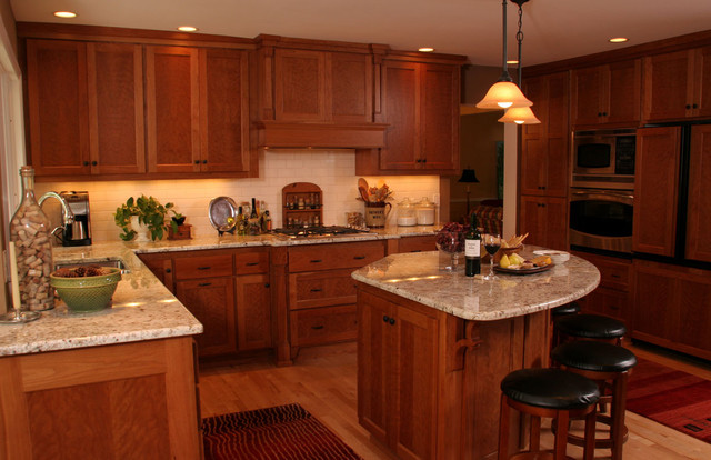Kitchen Kitchen triangle design with island