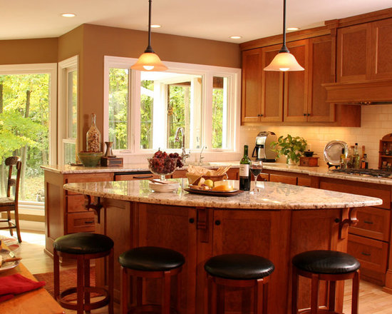 Natural Cherry Kitchens Design Ideas Pictures Remodel