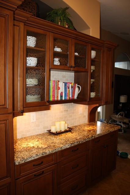kitchen wall display cabinets