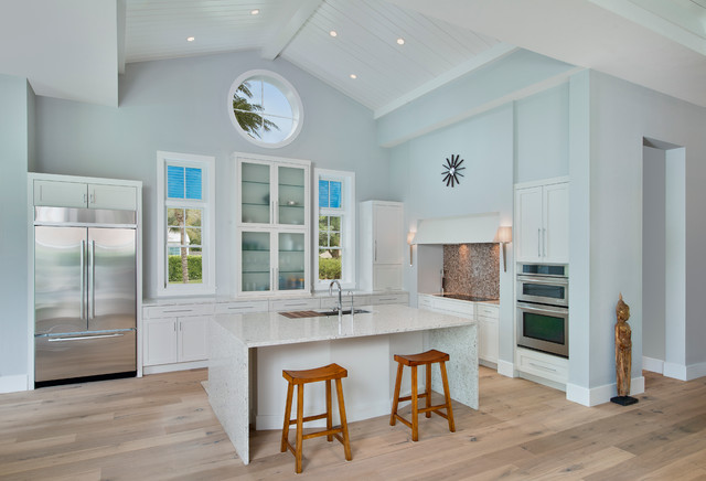 Kitchen Beach Style Kitchen Tampa By Weber Design Group Inc