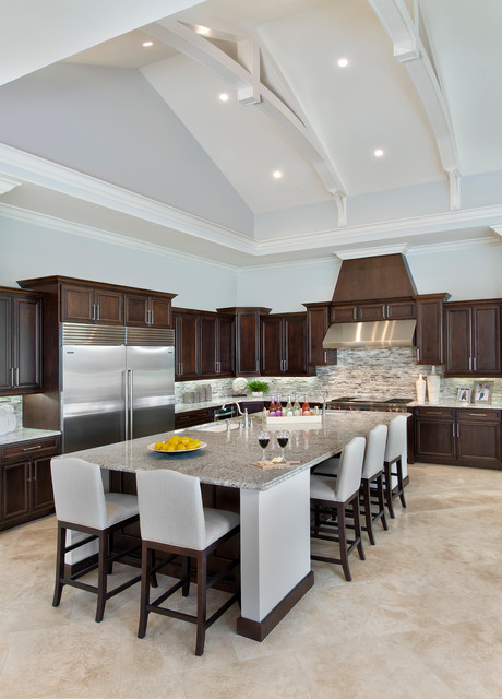 Kitchen traditional kitchen miami by weber design for Building traditional kitchen cabinets by jim tolpin