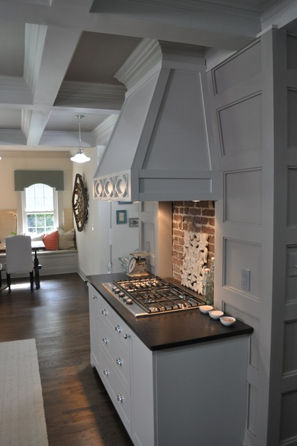 HGTV-living room, kitchen and more traditional-kitchen