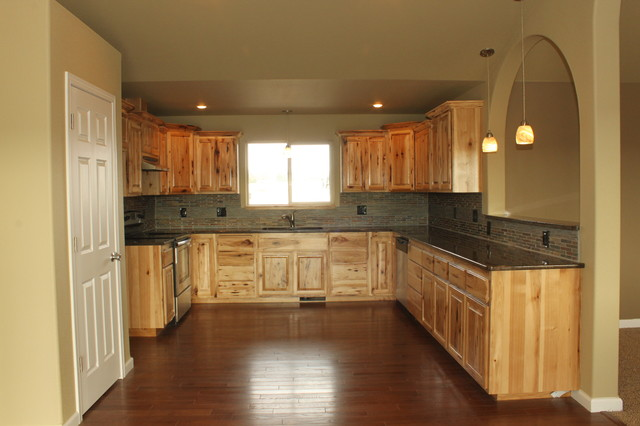Kitchen, West Ridge View Estates - Traditional - Kitchen ...