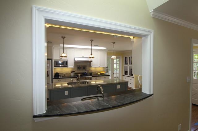 Kitchen Window Passthru Klassisch, Dining Room To Kitchen Pass Through