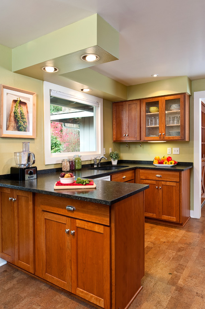 Kitchen window sink and cabinets - Traditional - Kitchen ...