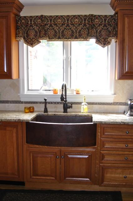 Kitchen Window Treatment traditional-kitchen