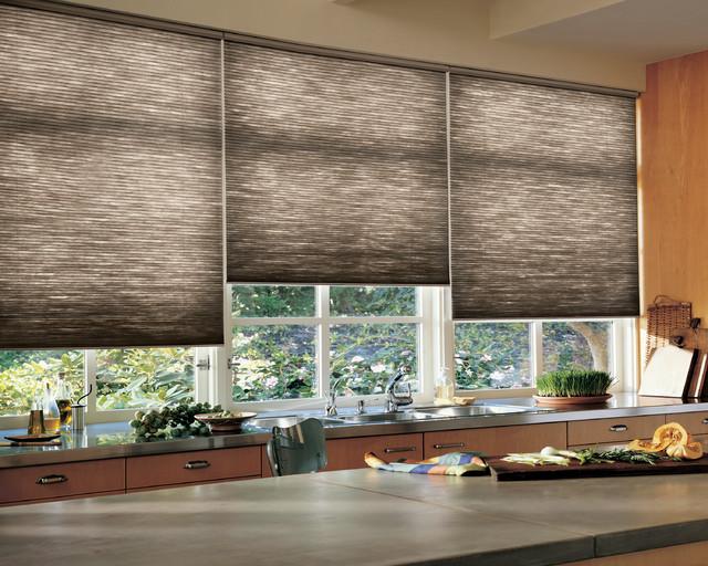 Kitchen Window Treatment skandinavisk-koekken