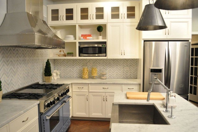 Kitchen with 48 bluestar range featured on kitchen Is kitchen crashers really free