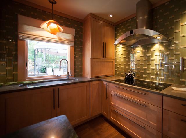 Kitchen with a Secret contemporary-kitchen