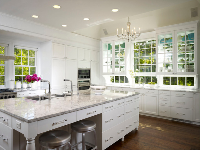 Kitchen With A View Traditional Kitchen Chicago By