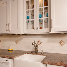 Kitchen with a Wine Flair in Yardley  PA