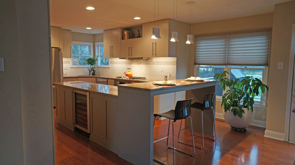 Kitchen With Contemporary Charm Langhorne Pa Contemporary Kitchen Philadelphia By Lang S Kitchen Bath