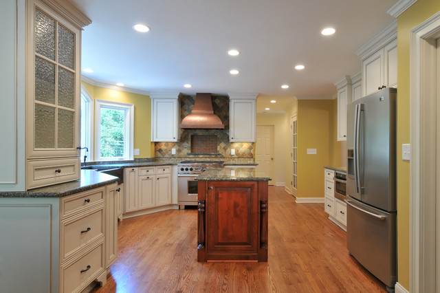 Kitchen with copper accents contemporary kitchen - Kitchen with copper accents ...
