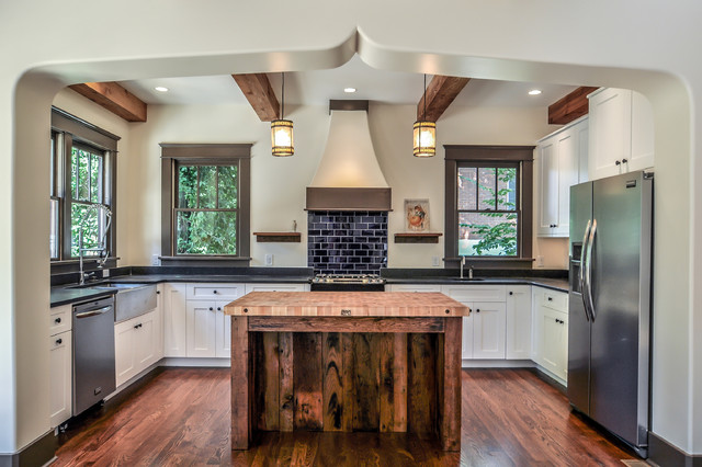 Hillsboro West End Residence - craftsman - kitchen - nashville ...