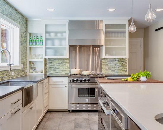 Farmhouse Sink Colors : ... Williams Kitchen Design Ideas, Remodels & Photos with a Farmhouse Sink