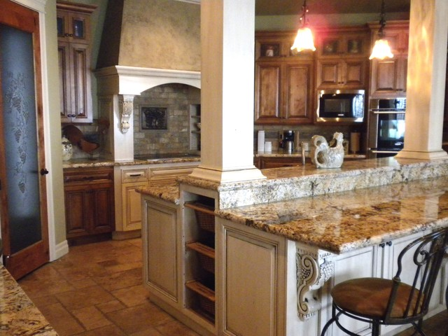 kitchen island with columns kitchen with island columns craftsman kitchen 5205