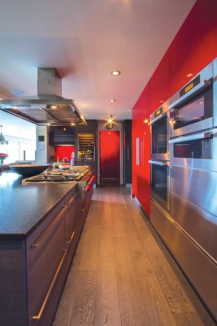 Kitchen With Island Spring 1 1 Modern Kitchen Calgary By Online Kitchen And Bath Designs